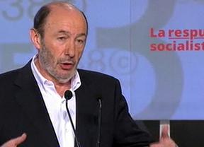 Rubalcaba anuncia la 'ruptura' con el PP y exige la dimisión inmediata de Rajoy