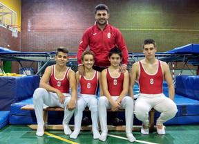 Cuatro gimnastas de Getafe participan en el Campeonato del mundo de trampolín
