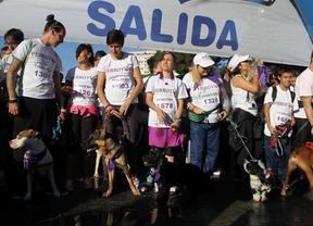 2.000 personas corren en el 'perrotón' para promover la adopción de mascotas