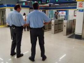 Los vigilantes del metro estarán mejor formados