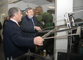 Jaime Lissavetzky visita las industrias de Villaverde