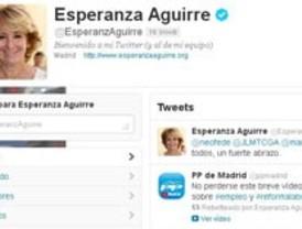 Aguirre, la política más influyente en Twitter