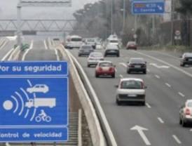 Nuevo radar de tramo en los túneles de Guadarrama
