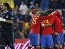 La clase de España venció a la albiceleste