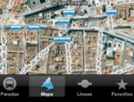 El 'GPS de la EMT' triunfa en los I-phone