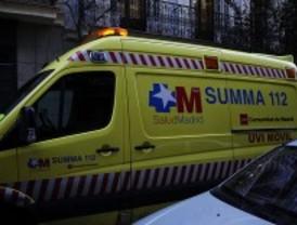 Herido grave un hombre de 60 años al ser atropellado en Collado Mediano