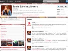 Tania Sánchez (IU), amenazada en Twitter, pide que la Delegación de Gobierno actúe