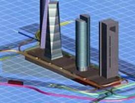 El distribuidor subterráneo de tráfico de las 'cuatro torres' se inaugura el día 17