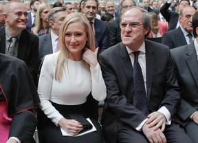 Cristina Cifuentes y Ángel Gabilondo