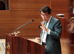 Ignacio Gonzalez durante su intervención en un pleno de la Asamblea de Madrid (archivo)