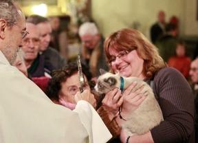 La iglesia de San Antón se prepara para acoger la tradicional bendición a los animales