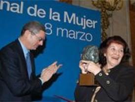 Madrid rinde homenaje a las mujeres en el 8 de marzo