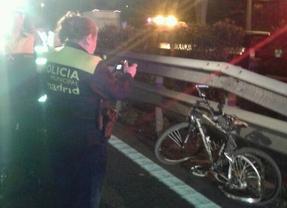 Accidente ciclista M-30