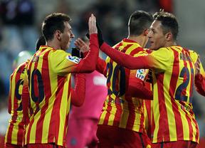 Messi resuelve el trámite de Getafe