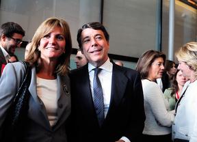 Lourdes Cavero e Ignacio Gonzalez en la Asamblea