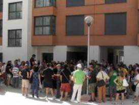 Unas viviendas nuevas de Rivas, sin correo postal un mes después de la entrega de llaves