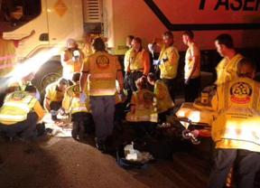 Fallece un trabajador de Mercamadrid tras quedar atrapado entre el tráiler y la cabina de un camión