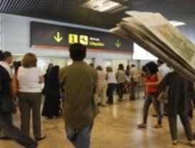 Cancelados quince vuelos en Barajas por la huelga general en Italia