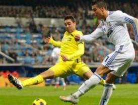 Cristiano superó al Villarreal