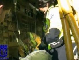 Un hombre fallece al ser arrollado por un camión, al salir de su vehículo en la M-40