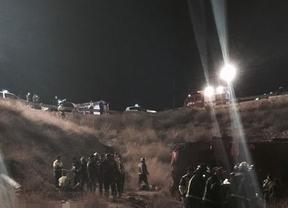 14 muertos en Murcia, en un accidente de un autobús que salía de Madrid