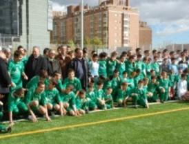 El barrio de Carabanchel abre nuevos campos de fútbol en el Pinar de San José