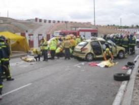 Dos jóvenes pierden la vida en una colisión en el barrio de Mirasierra