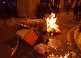 Dos de cada tres españoles creen que las protestas violentas perjudican al turismo