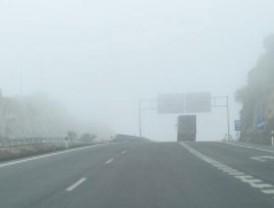 Poca visibilidad al volante en Navacerrada