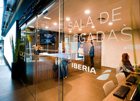 Iberia inaugura su sala VIP en Barajas