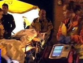 Un herido grave y dos leves tras una explosión de gas en Orcasitas