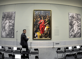 'El Expolio' de El Greco, en el Prado