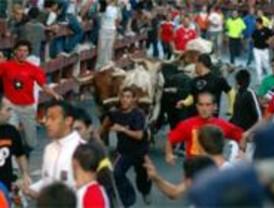 Dos heridos por asta de toro en el segundo encierro de Leganés