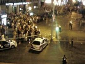 Un joven detenido por herir a otro con un machete en la plaza del Carmen