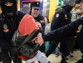 Puestos en libertad los detenidos en el Metro