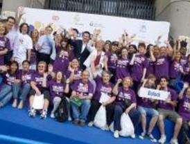 Mil niños participan en la VII Maratón por la Integración Social