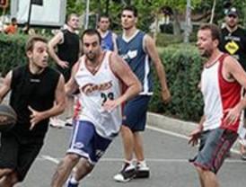 La fase final del 'Tribasket' llenará la Plaza de España a partir de este jueves