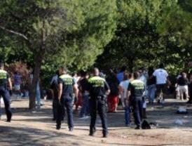 Batalla campal entre policías e inmigrantes en la Casa de Campo