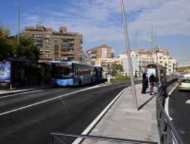 Los autobuses toman la avenida de Córdoba