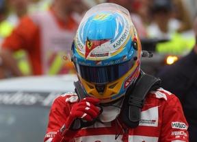Naufragio de Ferrari en el GP de Gran Bretaña