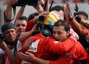 Alonso da una lección de pilotaje y valentía en el GP de Hungría