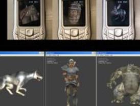 Juegos en red con contenido 3D adaptables a distintos terminales