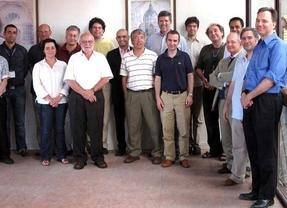 Albert Banchs junto a otros miembros del Consejo Científico de Imdea Networks