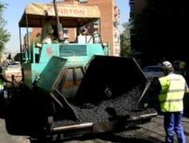 Ocho calles de cuatro distritos madrileños sufrirán cortes de tráfico por las obras de pavimentación