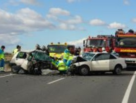 Fallece un hombre de 51 años tras colisionar con otro vehículo en la M-301