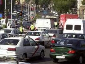 La crisis reduce el uso del coche