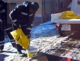 La Comunidad almacena en la sierra 2.500 toneladas de sal para afrontar las nevadas del invierno