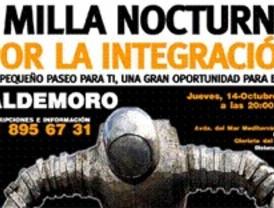 I Milla nocturna por la integración, en Valdemoro