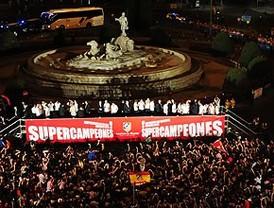 Madrid se vuelca con los supercampeones