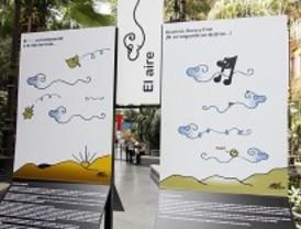 Atocha acoge una exposición sobre medio ambiente de Forges y del naturalista Araujo